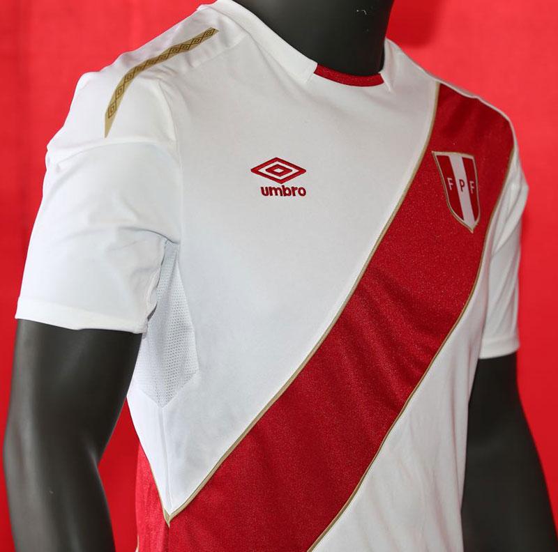 ペルー代表 2018 Umbro ホーム ユニフォーム