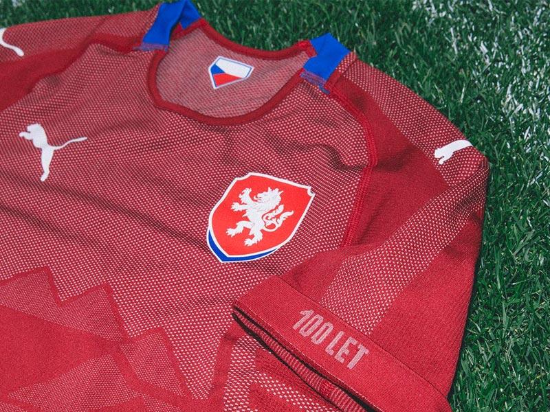 チェコ代表 2018 Puma ホーム ユニフォーム