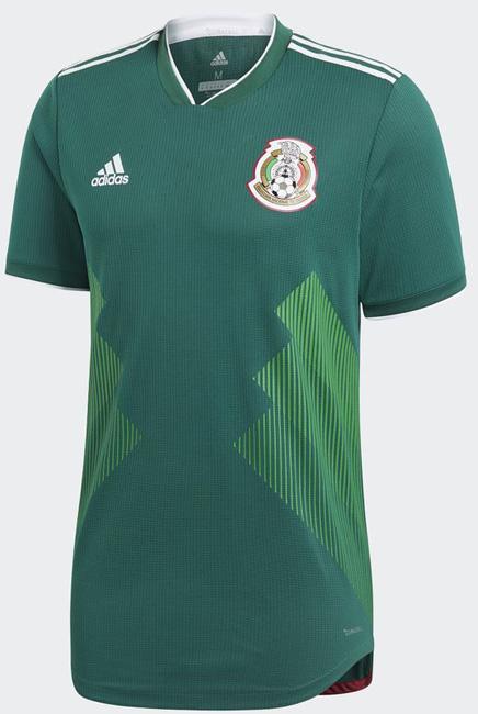 メキシコ代表 2017-18 ホーム半袖 ユニフォーム 2018ワールドカップモデル