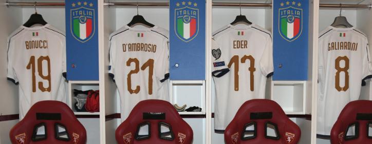 イタリア代表新フォント