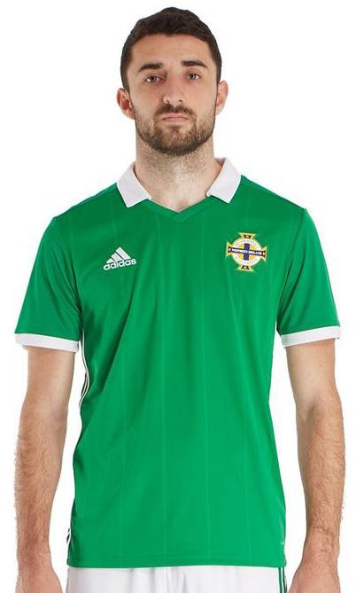 北アイルランド代表 2018 adidas ホーム ユニフォーム