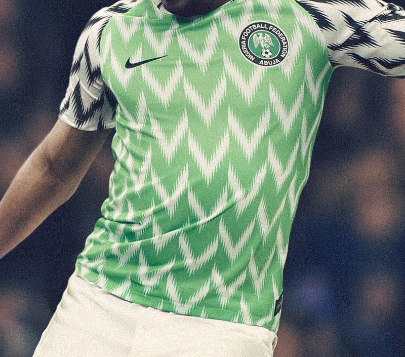 ナイジェリア代表 2018 Nike ホーム ユニフォーム