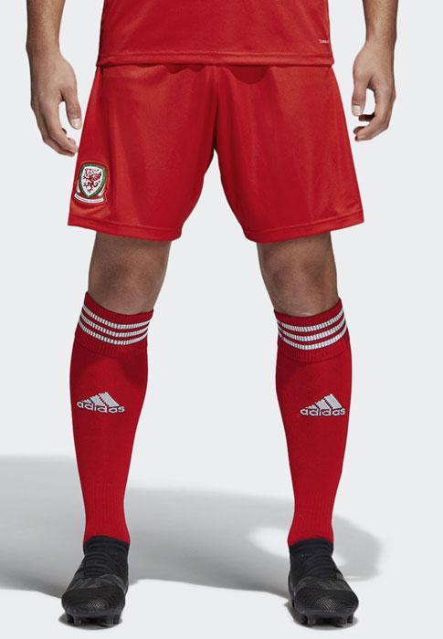 ウェールズ代表 2018 adidas ホーム ユニフォーム