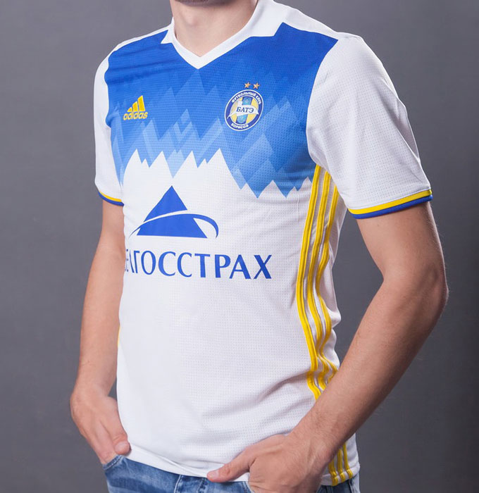 ひっそりと国内リーグ12連覇!BATEボリソフの17-18ユニフォーム