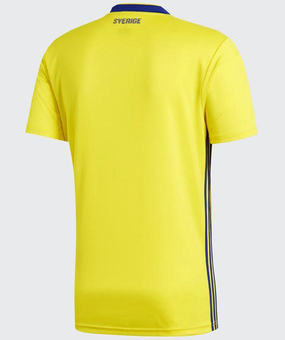 スウェーデン代表 2018 adidas ホーム ユニフォーム