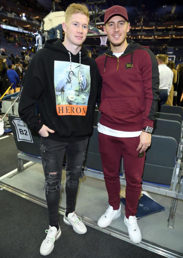 NBA観戦した有名サッカー選手たち!その私服ファッションを見る