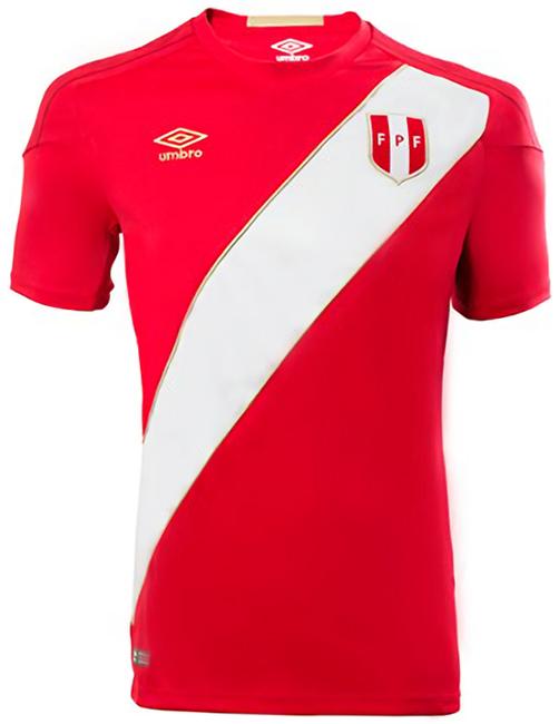 ペルー代表 2018 Umbro アウェイ ユニフォーム