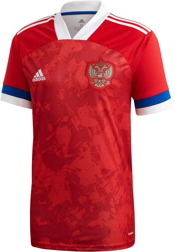 ロシア代表、EURO2020に向けた新ユニフォームを発表!「国旗カラー」に