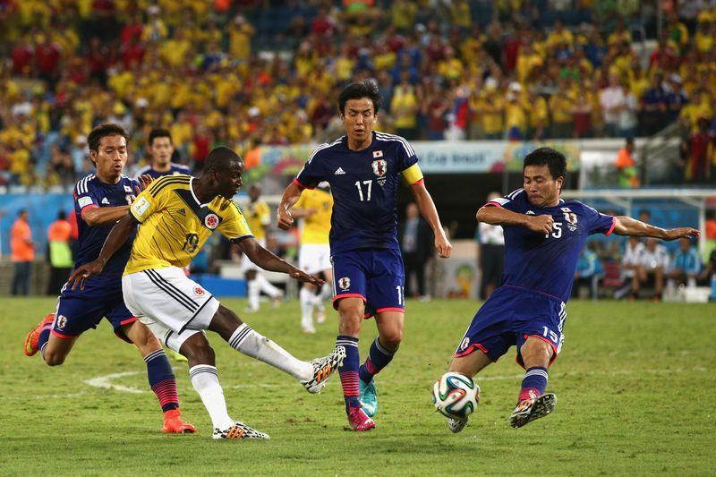 日本 コロンビア ワールドカップ