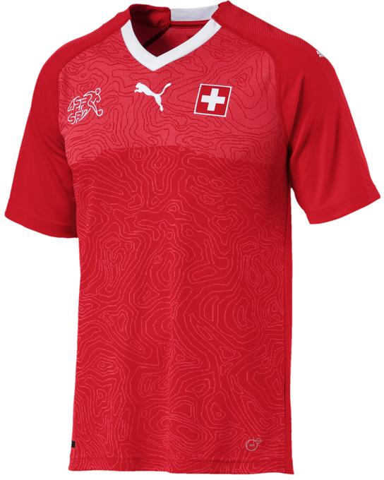 スイス代表 2018 Puma ホーム ユニフォーム