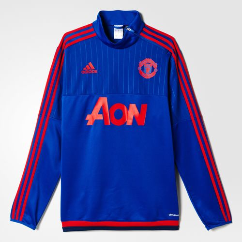Manchester United 2015-16 adidas Training Top 2
