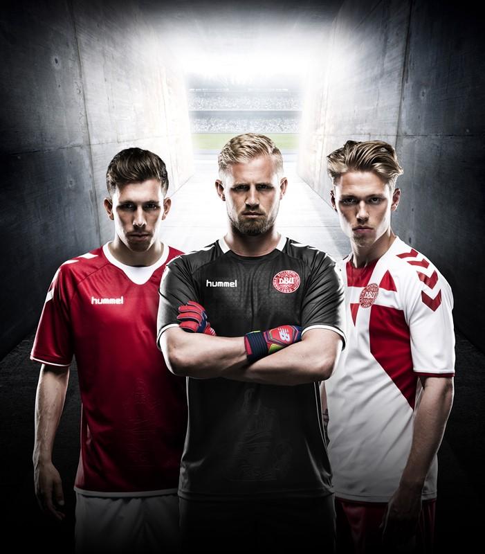 デンマーク新ユニフォーム