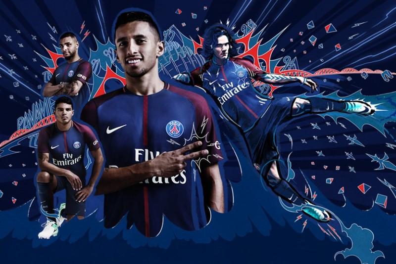 PSG 2017-18新ユニフォーム