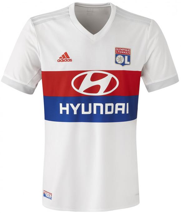 リヨン 2017-18新ユニフォーム