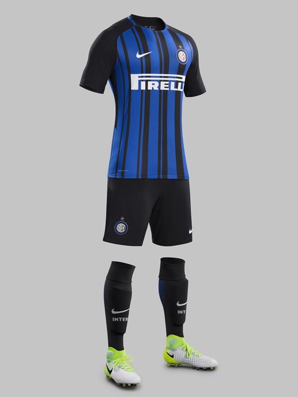インテル・ミラノ 2017-18新ユニフォーム