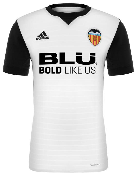 バレンシア 2017-18新ユニフォーム