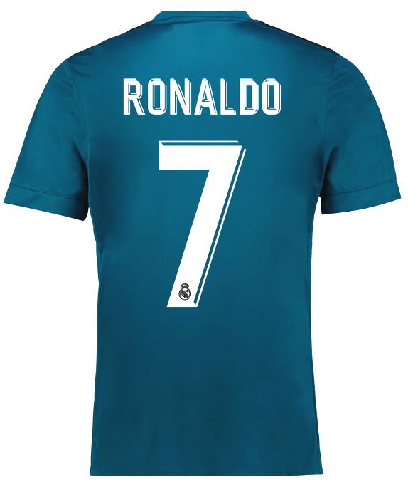レアル・マドリー 2017-18 新ユニフォーム