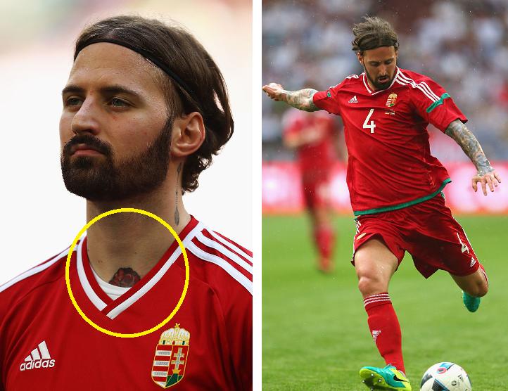 EURO2016、タトゥーな選手を探し...