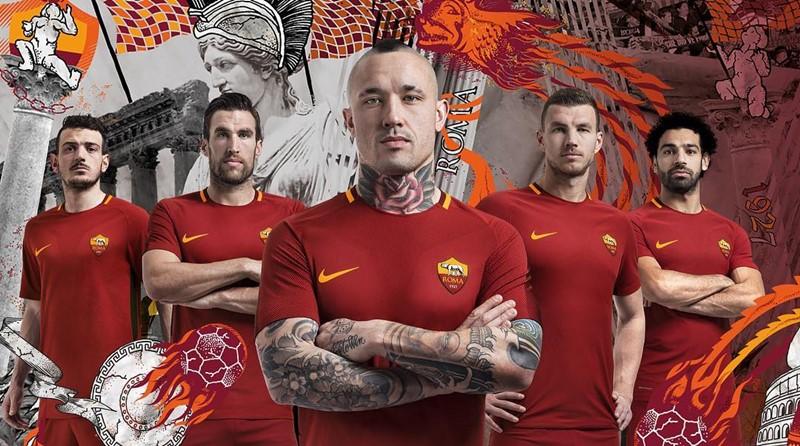 ローマ 2017-18新ユニフォーム