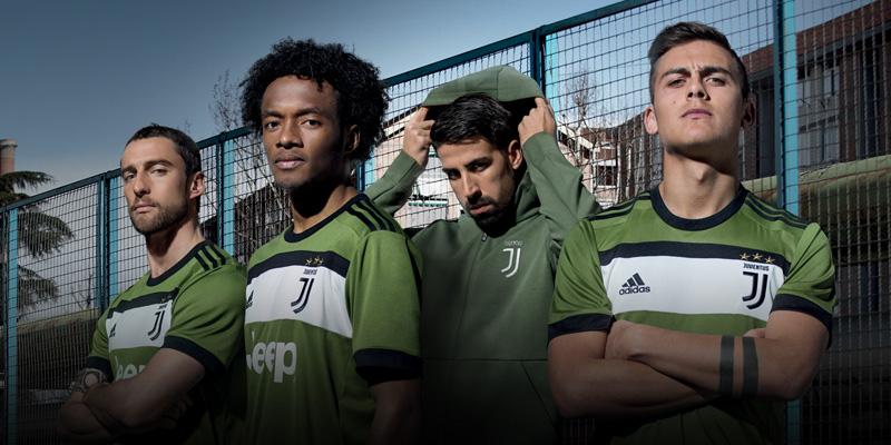 ユヴェントス 2017-18 新ユニフォーム