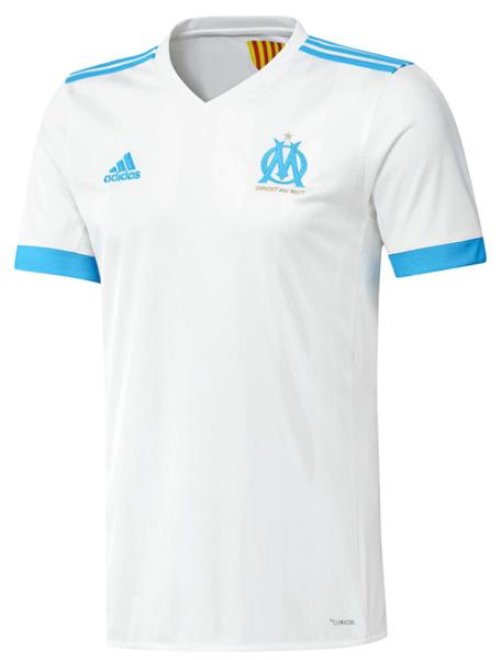 マルセイユ 2017-18 新ユニフォーム